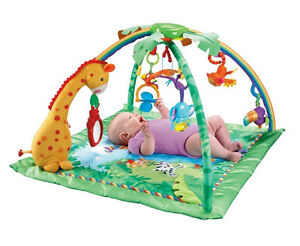 Tapis d'éveil Jungle de Fisher Price