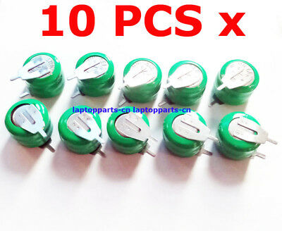 10 PCS x Ni-MH 3.6V 20mAh Tabbed Rechargeable Battery 3/V20H PLC Back up Power