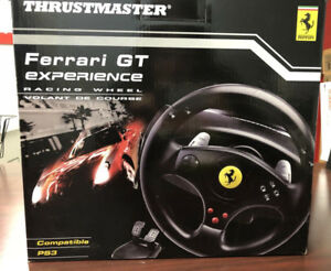 Thrustmaster PS3  Ferrari GT Racing Wheel-NEW IN BOX
