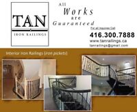 Wrought Iron Pickets Staircase Balusters