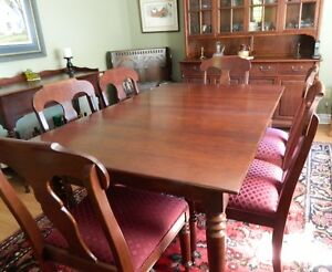 Gibbard Solid Cherry Dining Suite Kingston Kingston Area image 2