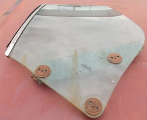 DRIVER'S REAR QUARTER WINDOW FOR 1970-72 CUTLASS, MONTE CARLO