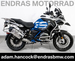 2018 BMW R1200GS Adventure - BRAND NEW - Light White