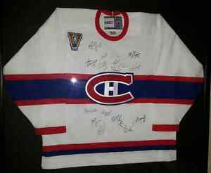 SIGNED Canadiens Heritage Classic jersey
