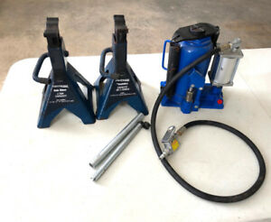 2- Ton Pneumatic Bottle Jack with 2 stands