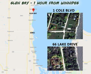Two Cottage Lots - North Gimli Estates (Glen Bay)