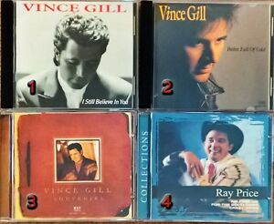Collection of Classic Country Music CD's - $3 Each