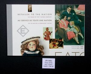 Stamps Canada 1994 Booklet BK169 Timothy Eaton Company #1510a
