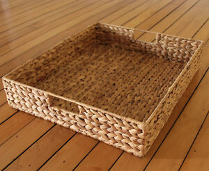 MOVING SALE - Large Wicker Tray