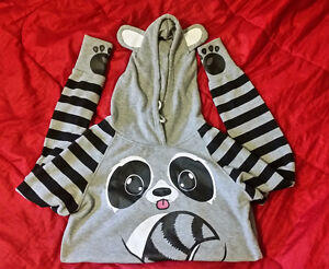 Raccoon Hoodie with Ears (Women's Large)