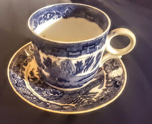 CLIFTON CHINA TEA CUP & SAUCER