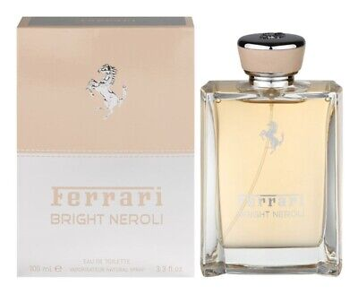 FERRARI BRIGHT NEROLI 100ML EAU DE TOILETTE SPRAY BRAND NEW & SEALED