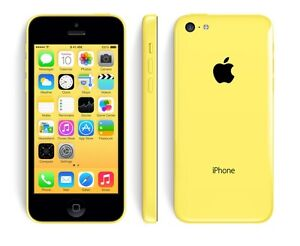 Mint Condition Iphone 5C 8gb yellow