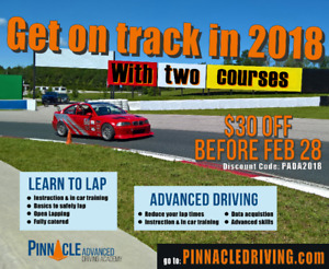 Who wants to be a race car driver? Get on Track in 2018!