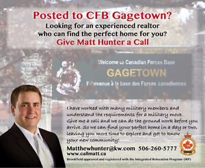 Posted To CFB Gagetown?