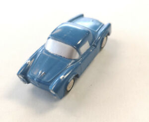 Schuco Piccolo No 716 Fiat Spyder Blue Diecast Toy Car