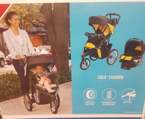 New Graco Jogging stroller and click connect car seat 30