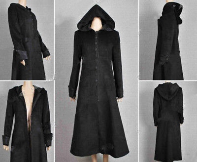 Twilight Movie New Moon Cosplay Costume Volturi Jane Black Coat Wool Halloween - Jane Halloween Costume Twilight