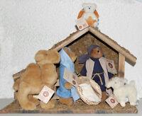 Boyds Bears Plush nativity