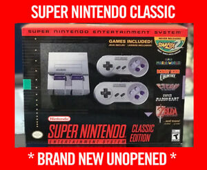 Super NES Classic Edition *BRAND NEW NEVER OPENED w/ receipt*