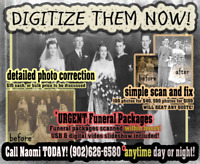 Professional Photo Digitizing & Funeral Scanning Services