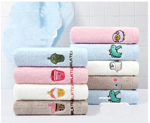 Baby wash cloths cotton  face wash clothes Towel  50 X 25cm