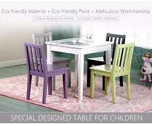 Children's 1 table and 4 chairs set Box Hill North Whitehorse Area Preview