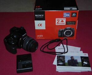 Near Mint Sony A65 Camera and 18-55mm lens Peterborough Peterborough Area image 5