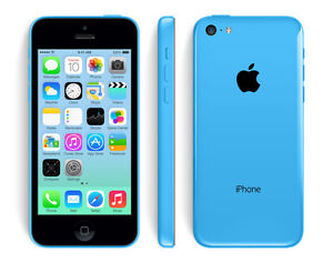 Blue 16gb iPhone 5C with Rogers/Chatr/Speakout - Phone Only