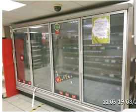 Arnec commercial 4 doors display Freezer excellent condition
