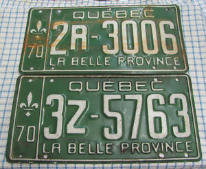 Plaques D'Immatriculation - Licence Plates