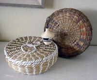 Three Baskets 2 Native American - 1 Antique Chinese