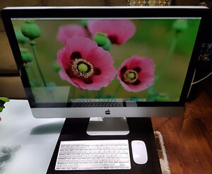 "Apple Imac late 2013 model and 27"", mint condition"