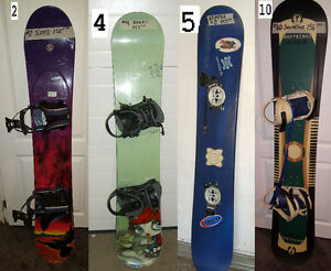 SNOWBOARDS, SNOW BOARDS CHECK THE # IN THE PIC, FIND IT IN THE L