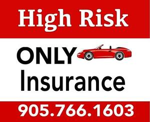 High Risk Auto Insurance? Call 905.766.1603. We'll Help You Rebuild Your Driving Record.