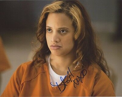 Dascha Polanco In Person Signed Photo   Orange Is The New Black