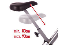 exercise bike Ultrasport Foldable Exercise Bike with Pulse Sensor Grips 200-B
