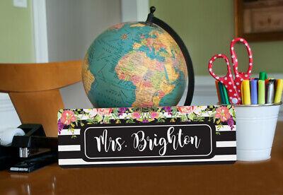 Personalized Teacher Gift   Teacher Door Sign for Classroom   Door Hanging SIgn - Classroom Door Signs