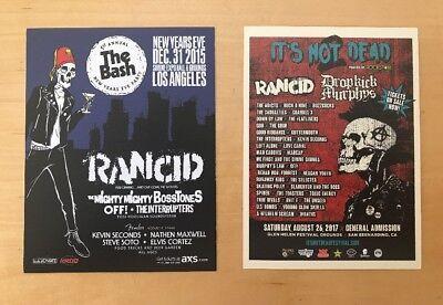 RANCID Los Angeles handbills