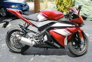 **READY FOR SUMMER??** - 2010 YAMAHA R125 - NEAR NEW CONDITION!! Surrey Downs Tea Tree Gully Area Preview