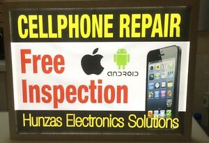 Phone Repair: Broken screen -NO FIX NO FEE-THAT'S OUR POLICY
