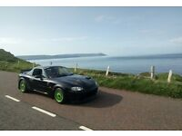 Mk2 Mazda Mx5 Alltrack / Lane rally Car (Not BMW Compact Sierra autotest track 318 rwd lsd drift)