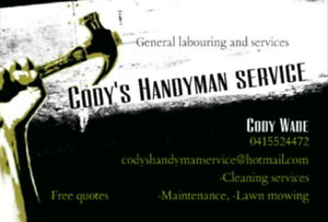 Cody's Handyman Services Merrylands Parramatta Area Preview