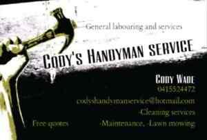 Codys handyman services Merrylands Parramatta Area Preview