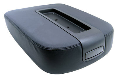 Fits Chevy Tahoe Suburban 07-13 Console Armrest PVC Leather Cover Black