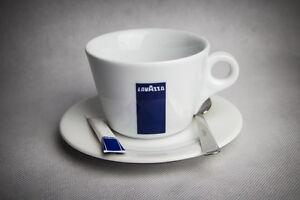 Lavazza Milchkaffee Tassen mit Untertassen 12 Stück