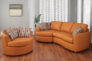 modern sectional sofas leather (SF111)