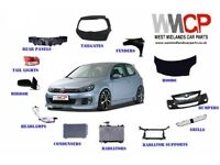 vw golf mk6 front driver side wing new