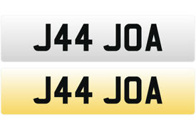 J44 JOA - Joanne, Joan - Cherished Personal Registration Number Plate - Price Includes All DVLA Fees