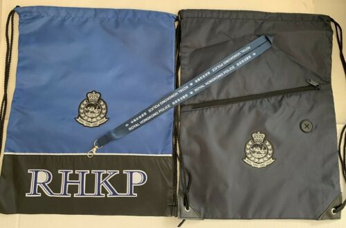 Gym pack #1B - Set of 3 pcs Gym Pack w/Royal Hong Kong Police badge & neckstraps